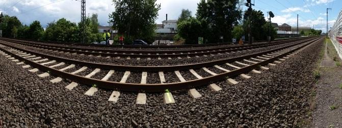 Vermessung von Gleisen