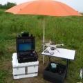Quadrokopter mit Ausrüstung