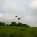 Quadrokopter in der Luft