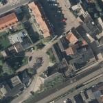 Zu vermessendes Gebiet im Luftbild